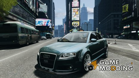 Audi RS4 Undercover v 2.0 для GTA 4