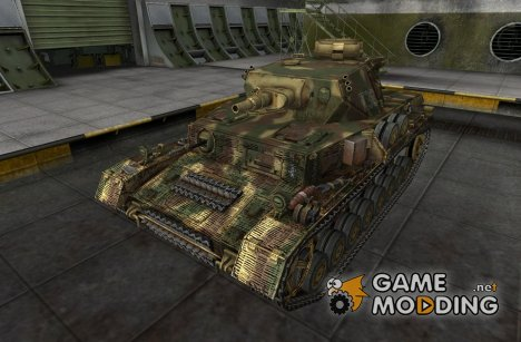 Шкурка для Pz IV Ausf GH для World of Tanks