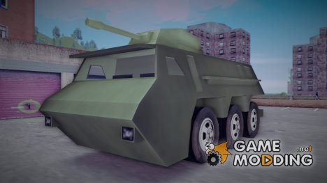 Beta APC Tank From Leaked Screen для GTA 3