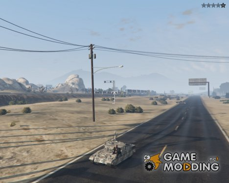 Миниатюрный танк Rhino for GTA 5
