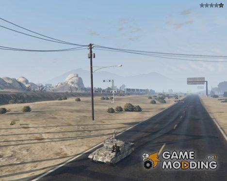 Миниатюрный танк Rhino для GTA 5