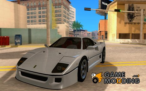 Ferrari F40 Black Revel для GTA San Andreas