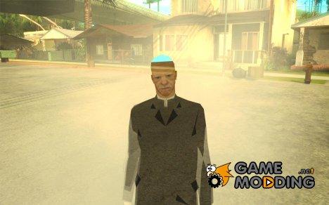 CJ призрак 1 ВЕРСИЯ for GTA San Andreas