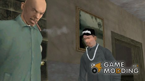 Кепка Compton for GTA San Andreas