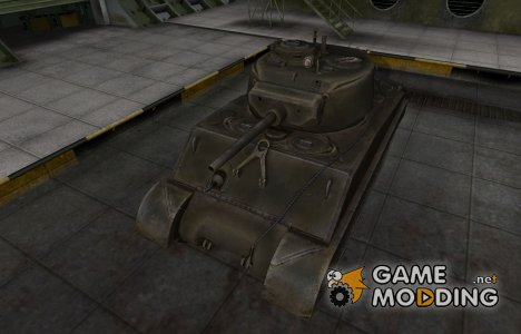Шкурка для американского танка M4A3E2 Sherman Jumbo for World of Tanks
