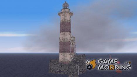 Заброшенный маяк и Даркел для GTA 3