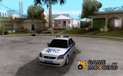 ВАЗ 2170 ДПС Самара for GTA San Andreas