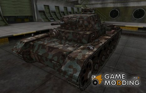 Горный камуфляж для PzKpfw III Ausf. A for World of Tanks