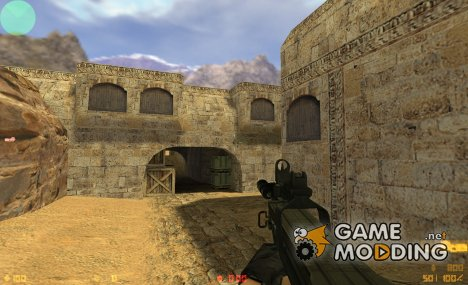 P90 on MW2 animations for Counter-Strike 1.6