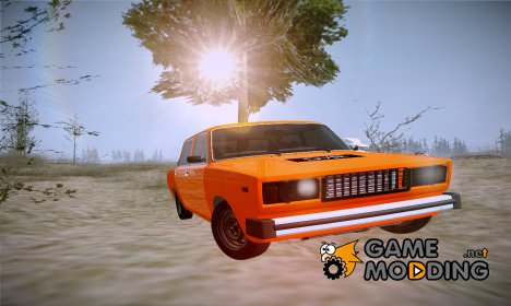 "ВАЗ 2105 ""Пятачок, GVR"" V1 for GTA San Andreas"