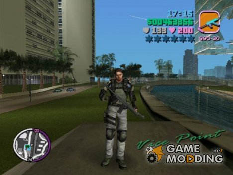 RE5 Chris for GTA Vice City