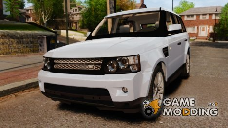 Land Rover Range Rover Sport Supercharged 2010 v1.5 for GTA 4