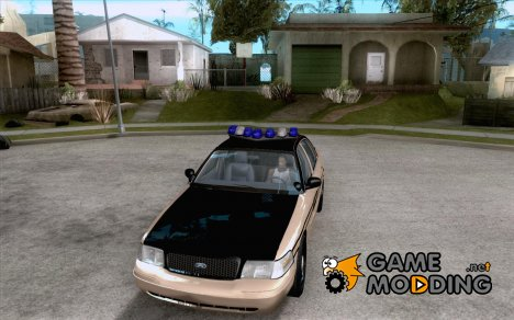 Ford Crown Victoria Tennessee Police for GTA San Andreas