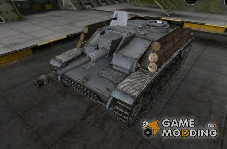 Remodel StuG III для World of Tanks