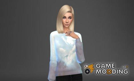 Большой сет женских свитшотов для Sims 4