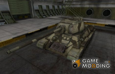Пустынный скин для Т-34-85 для World of Tanks