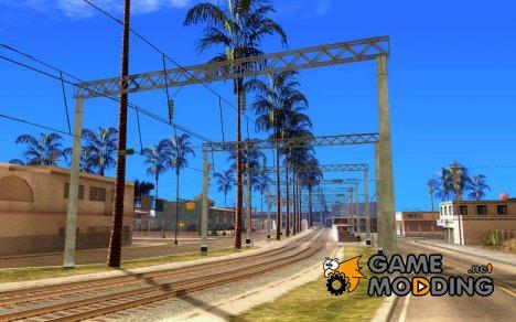 Контактная сеть 2 for GTA San Andreas