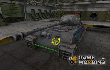 Качественные зоны пробития для VK 45.02 (P) Ausf. B for World of Tanks