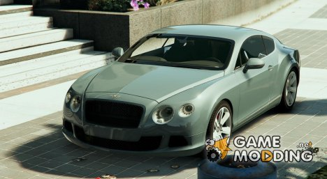 Bentley Continental GT 2012 for GTA 5