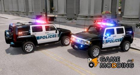 Hummer H3X 2007 LC Police Edition [ELS] для GTA 4