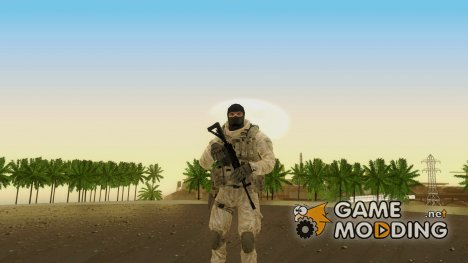 COD MW2 Shadow Company Soldier 3 для GTA San Andreas