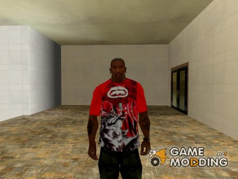 Ecko Unltd T-shirt red for GTA San Andreas