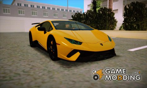 Lamborghini Huracan Performante LP640-4 2017 Wheel style 1 for GTA San Andreas