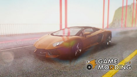 Lamborghini Aventador LP700-4 Roadster v2 for GTA San Andreas