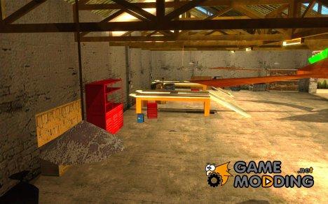 Автосервис около Groove v1.5 для GTA San Andreas