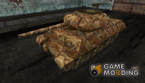 шкурка для M10 Wolverine №12 для World of Tanks