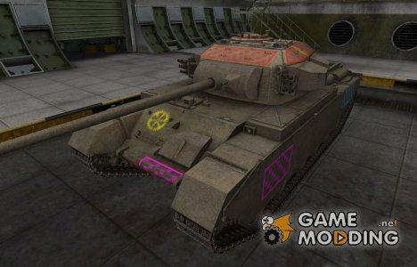 Качественные зоны пробития для Centurion Mk. 7/1 для World of Tanks