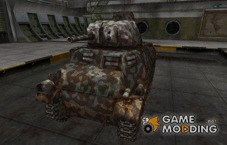 Горный камуфляж для PzKpfw S35 739 (f) for World of Tanks