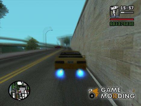Бесконечное нитро для GTA San Andreas