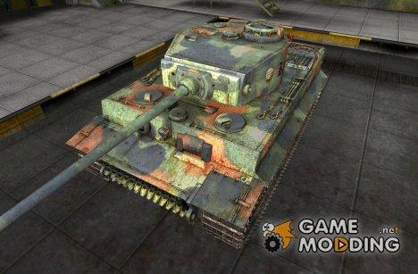 Шкурка для Pz VI Tiger для World of Tanks