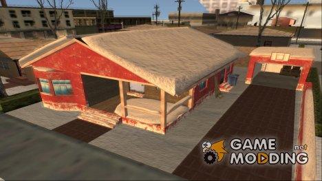 BigSmoke House Remastered Winter Edition v0.5 для GTA San Andreas
