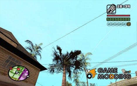 Новые звезды для худа №6 для GTA San Andreas