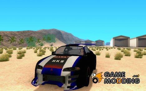Mitsubishi Eclipse 1999 Sport для GTA San Andreas