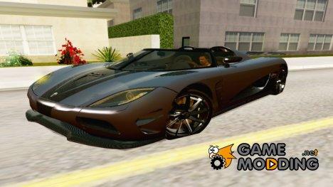 Koenigsegg Agera R for GTA San Andreas