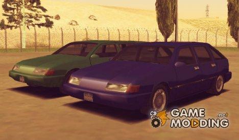 Gta Sa Solair hatchback для GTA San Andreas