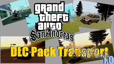 DLC абсолютно новый транспорт + возможность его приобрести 1.0 for GTA San Andreas