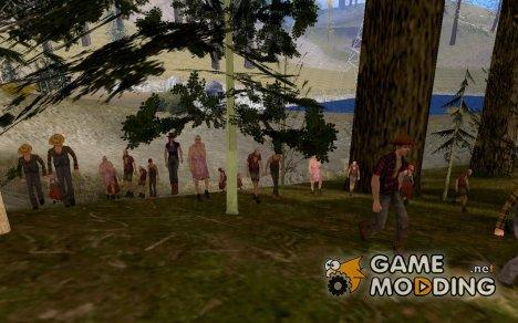 Спавн людей для GTA San Andreas