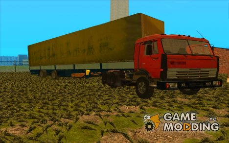 """Камаз 54115 """"Списанный"""" для GTA San Andreas"""