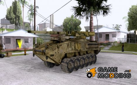 БМТВ M1128 MGS из COD MW 2 v1 for GTA San Andreas