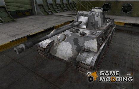 Камуфлированный скин для Panther II for World of Tanks
