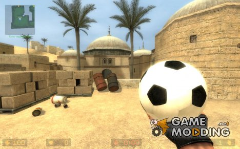 Football grenade for Counter-Strike Source