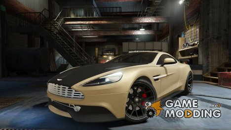 Aston Martin Vanquish V12 2015 Tunable for GTA 5