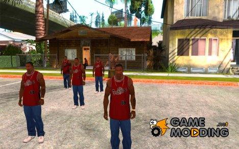 Много CJ'ев for GTA San Andreas