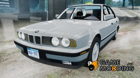 BMW 535i E34 ShadowLine v.3.0 for GTA 4