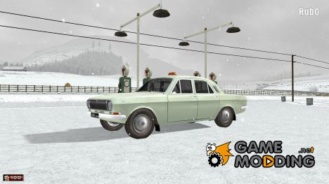 GAZ 24 TAXI для Mafia: The City of Lost Heaven