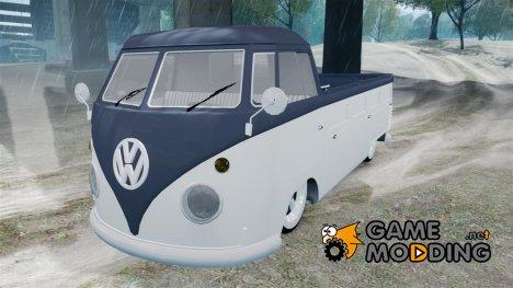 Volkswagen Kombi Tipo 2 Rod Cabine Simples for GTA 4